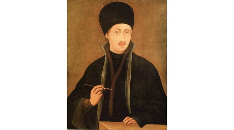 Zahari Zograf, a self-portrait 1853