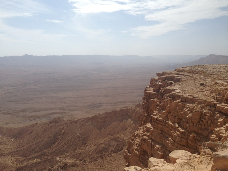 View from Makhtesh Ramon. Photo: Becca Gomby.
