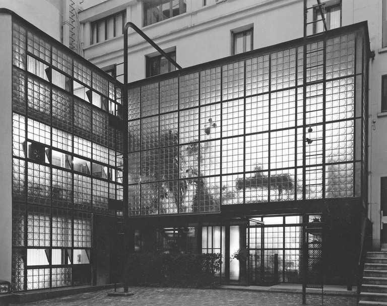 Pierre Chareau and Bernard Bijvoet: Maison de Verre, Paris, France, 1932 | © Architectural Press Archive/RIBA Collections