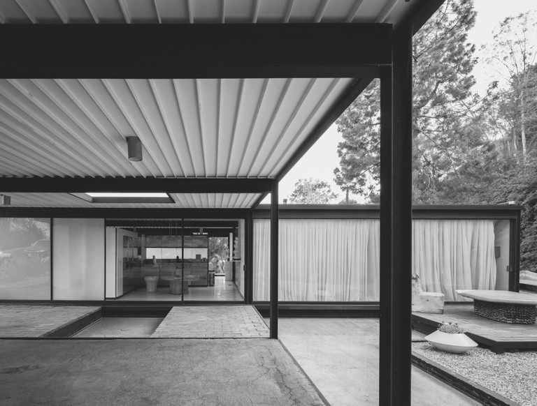 Pierre Koenig: Bailey House, (Case Study House #21) Los Angeles, CA, USA, 1958 | © Darren Bradley