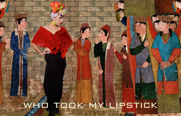 From the book: 'Who Took My Lipstick?' Photography, 27 x 42.3 cm