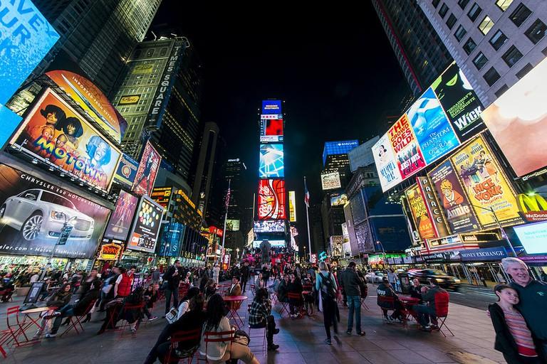 Times Square at night | © Chensiyuan/WikiCommons