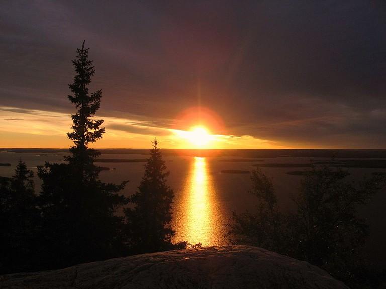 Koli National Park at sunset / Tuppence 1 / WikiCommons