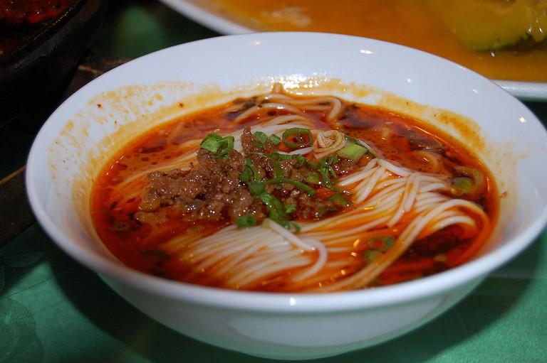 Dandan Noodles   © Steven G. Johnson/WikiCommons