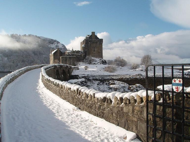 Eilean Donan in the Snow