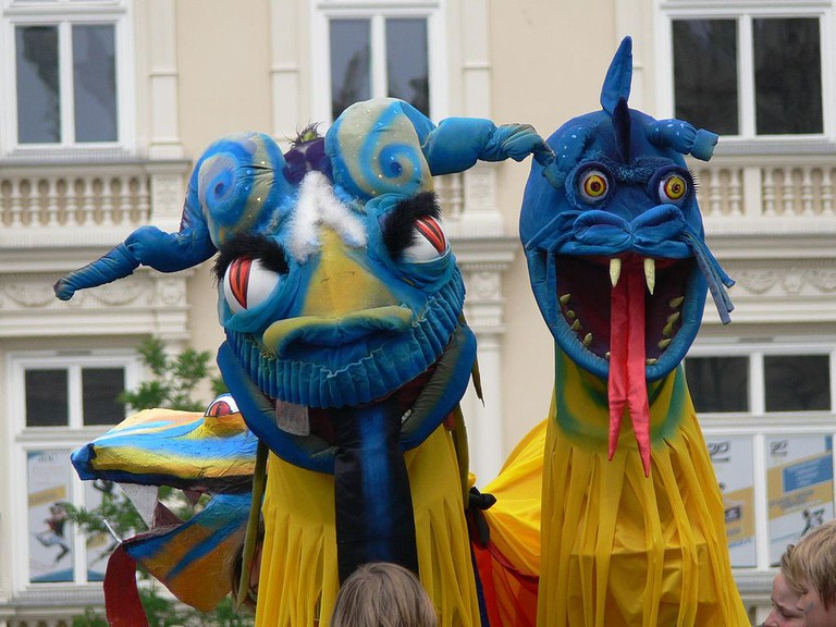 Part of the Dragon parade | © APN-PL/WikiCommons