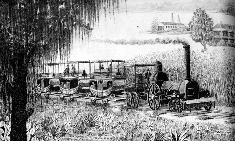 Pontchartrain Rail-Road | © Louisiana State University/Wikimedia Commons