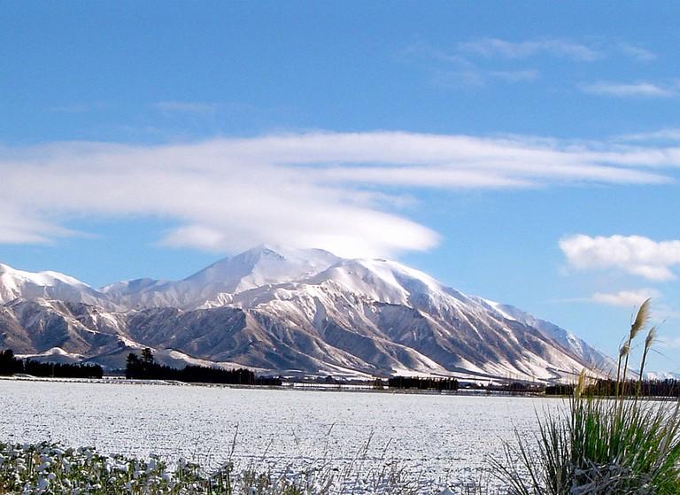 Mt Hutt in Winter