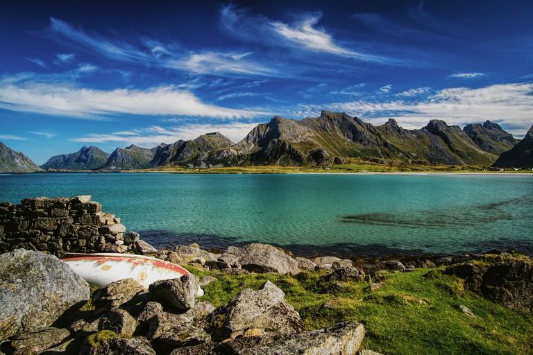 A Lofoten beach