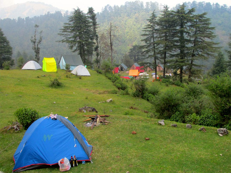 Camping at Mussoorie