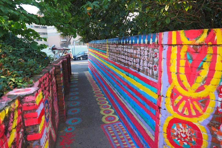 Rainbow alleyway