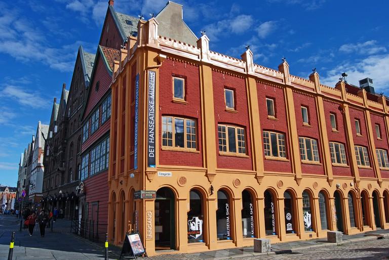 Exterior of the Hanseatic Museum