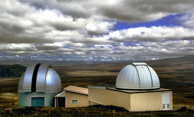 Mount John University Observatory (aka the Aoraki Mackenzie Dark Sky Reserve)