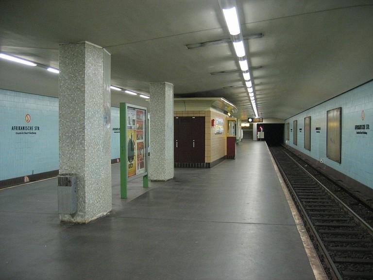 U-Bahnhof Afrikanische Straße, Berlin