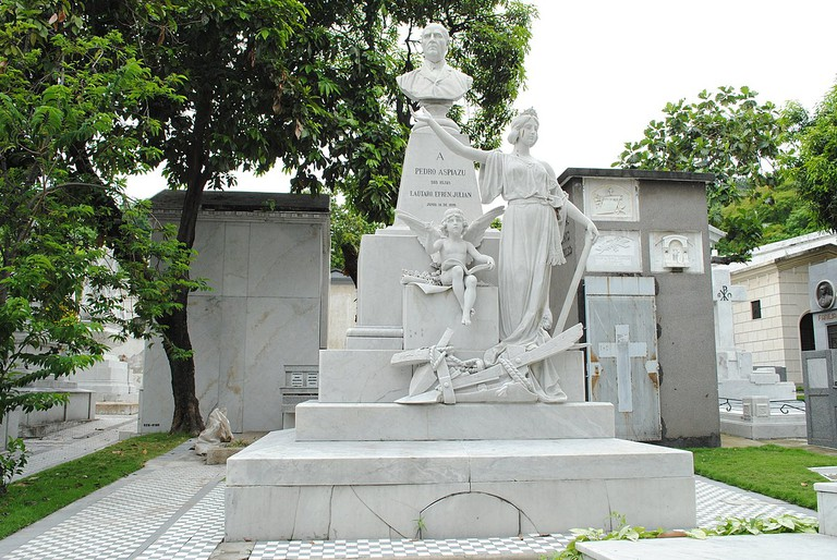 The Guayaquil Cemetery