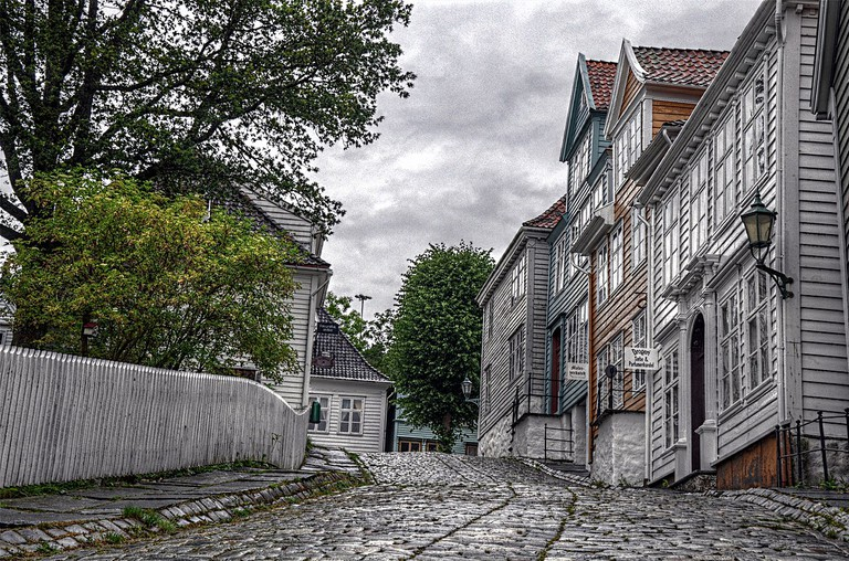A street in Gamle Bergen