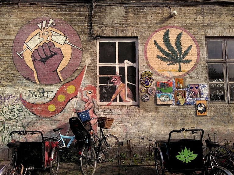 Mural in Christiania