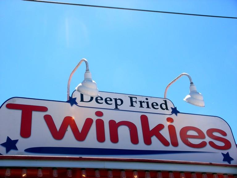 Deep-fried Twinkies