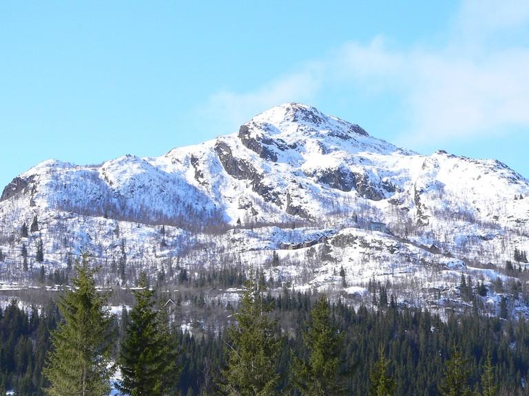 Mountain at Hemsedal