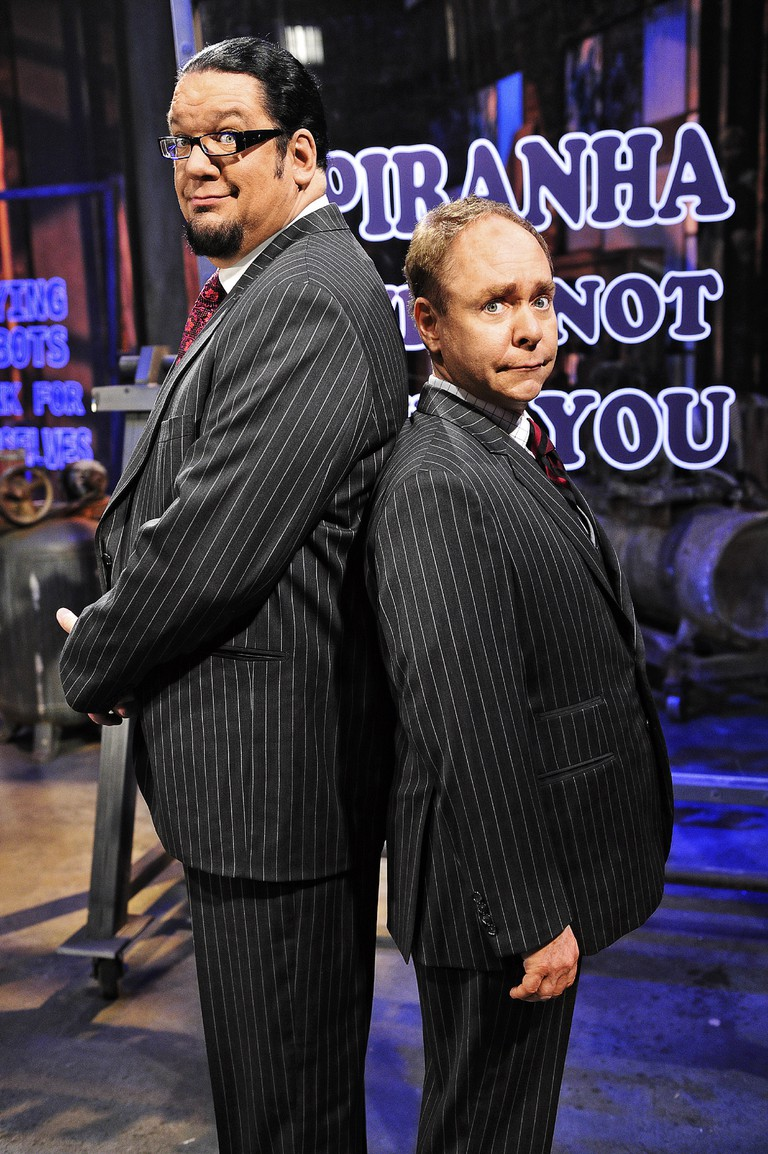 Penn and Teller are staples of Las Vegas entertainment. | © Lwp Kommunikáció/Flickr