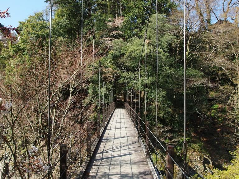 Hikawa Gorge, part of the trail from Okutama to Mount Mitake