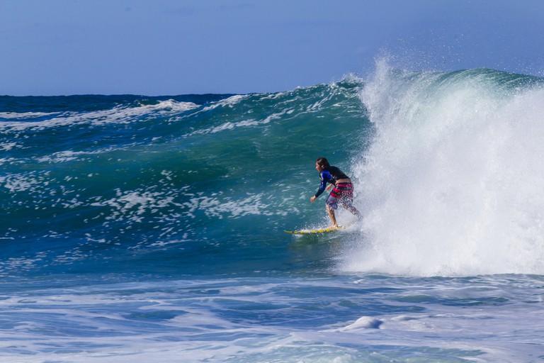 Big Swell at Werri Beach