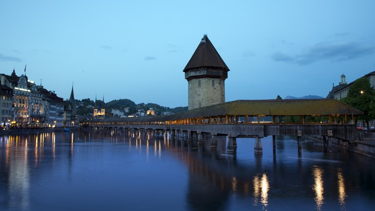 Lucerne and the Chapel Bridge