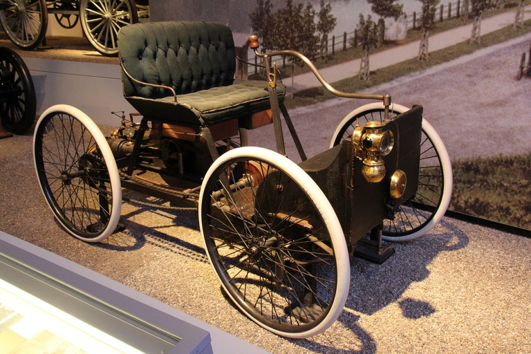 1896 Ford Quadracycle Runabout, the first vehicle developed by Henry Ford | © Sicnag / Flickr