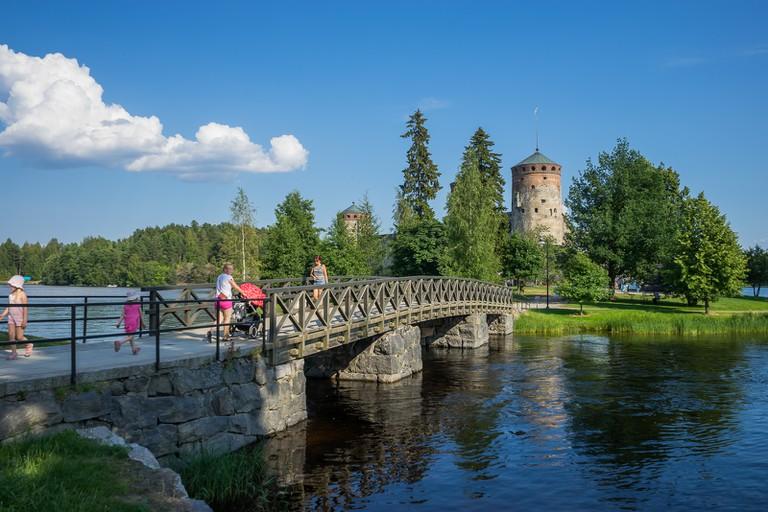 Olavinlinna as seen from the access bridge / Aki Suomela / Flickr