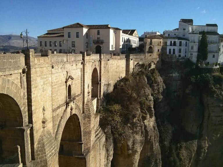 Ronda's New Bridge spans the El Tajo gorge I