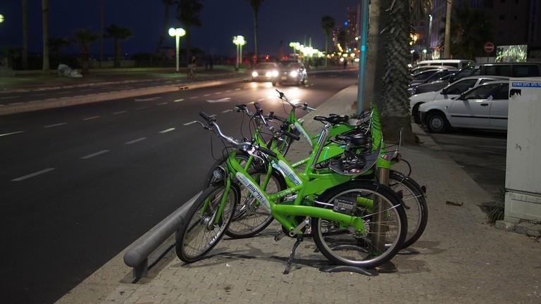Green bikes for all. Ⓒ Zeitfixierer /Flickr