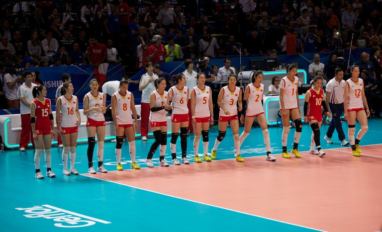 China at the 2014 Volleyball World Championships 2014 | © Massimiliano Raposio/Flickr