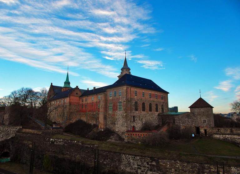 Akershus festning from the fjord
