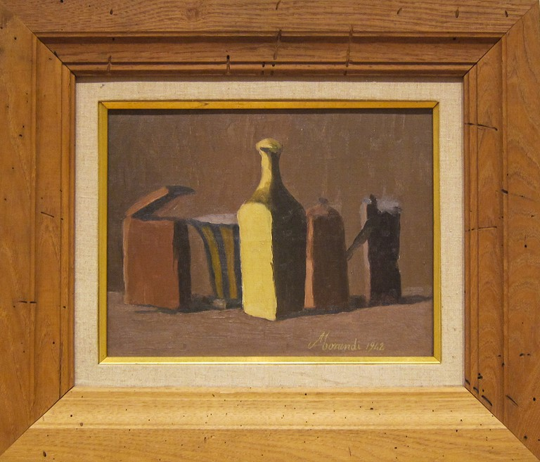 Still Life 1942 by Morandi