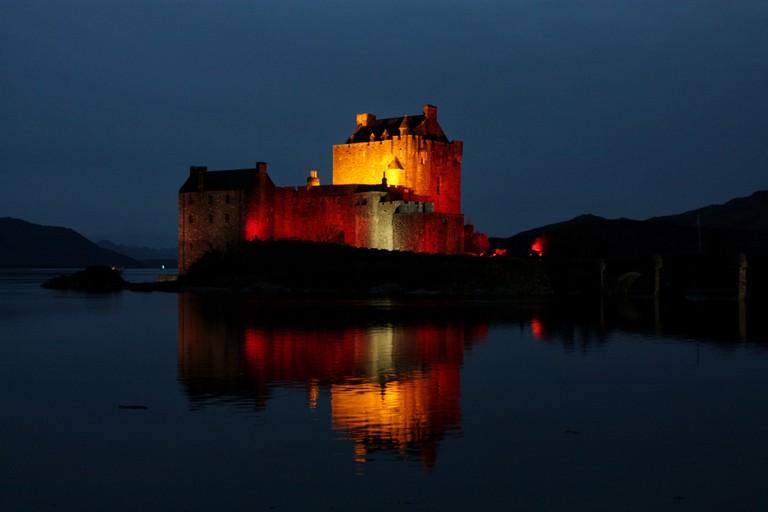 Eilean Donan at Night