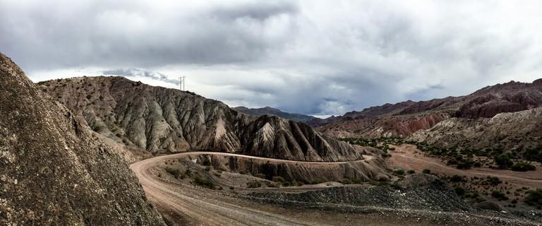 Valley near Tupiza