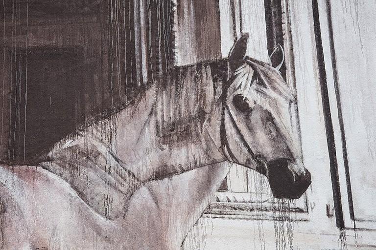 The horse in detail | © Nika Kramer