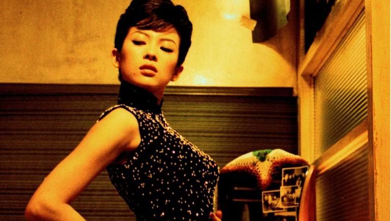 Zhang Ziyi as Bai Ling in 2046 (2004)