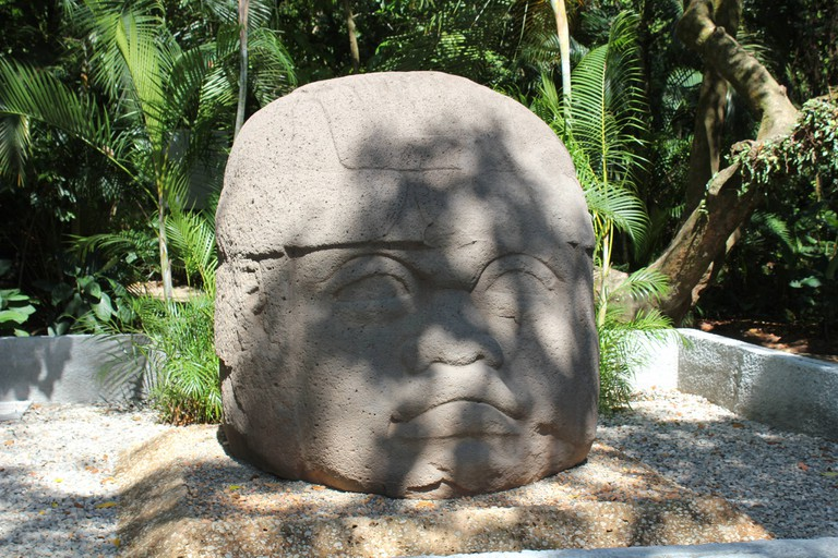 The mystery behind mexicos colossal olmec heads olmec head at parque la venta villahermosa publicscrutiny Images