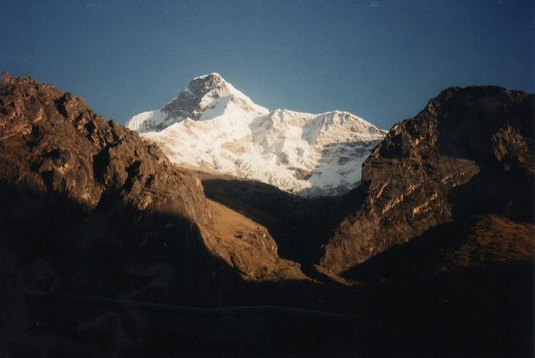 The snowy peaks of Huascaran National Park I
