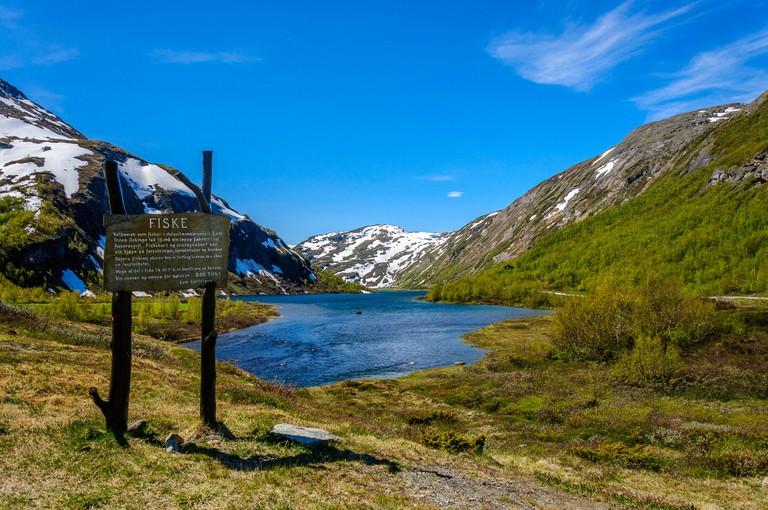 Bøvertonvatnet, Jotunheimen, Oppland county