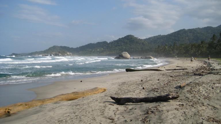 Arrecifes Beach in Tayrona Park
