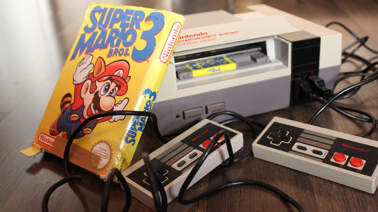 The Nintendo Entertainment System was released in Japan in 1983