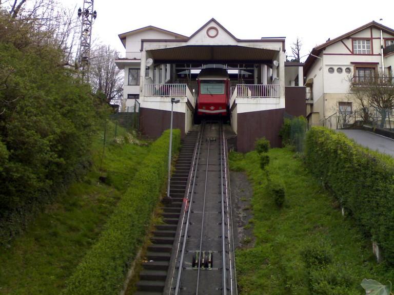 Artxanda Funicular, Bilbao | ©Miguel Fernandes / Flickr