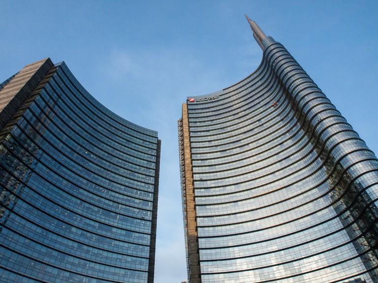 Tall towers make up the Porta Nuova skyline | © Paul Barker Hemings/Flickr