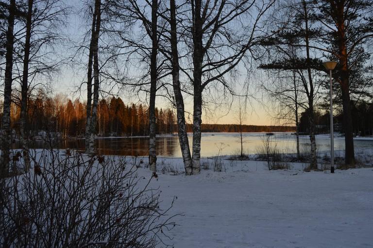Kuhmo in winter / Urpo Lankinen / Flickr