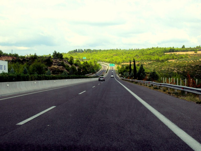 On the way to Volos