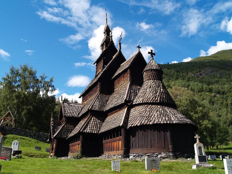 View of Borgund Stave Church / zoetnet / Flickr