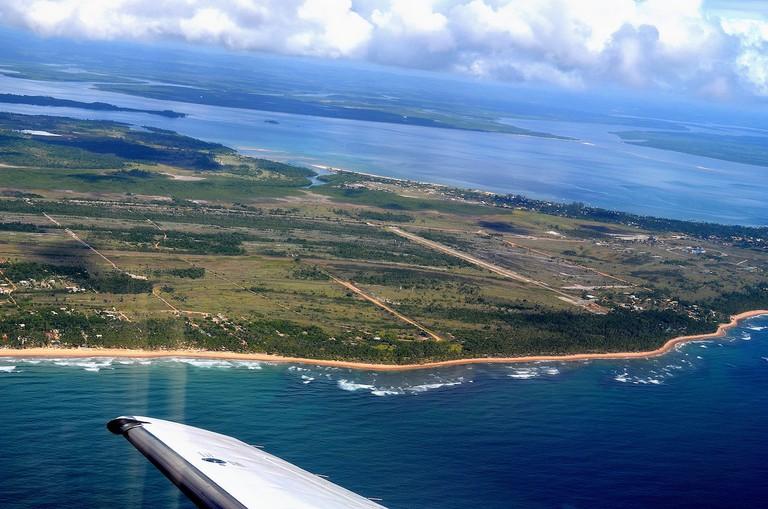 Maraú Peninsula from on high
