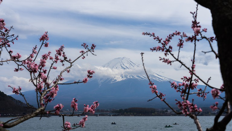 UNESCO World Heritage Site Mount Fuji